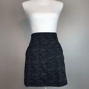 🌸 TEHAMA {S} Gray Athletic Skirt with Pockets